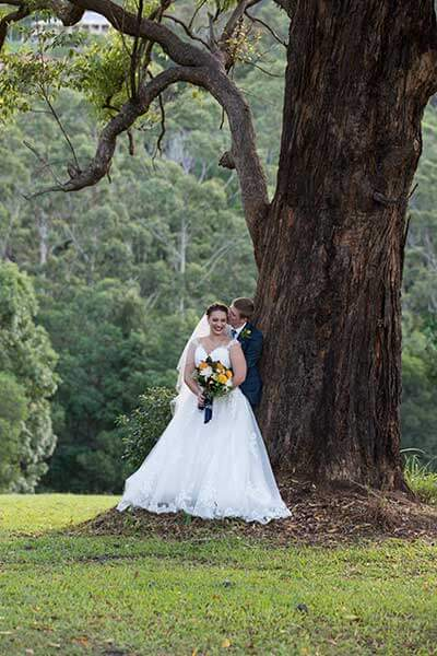 hinterland wedding photographer Brisbane